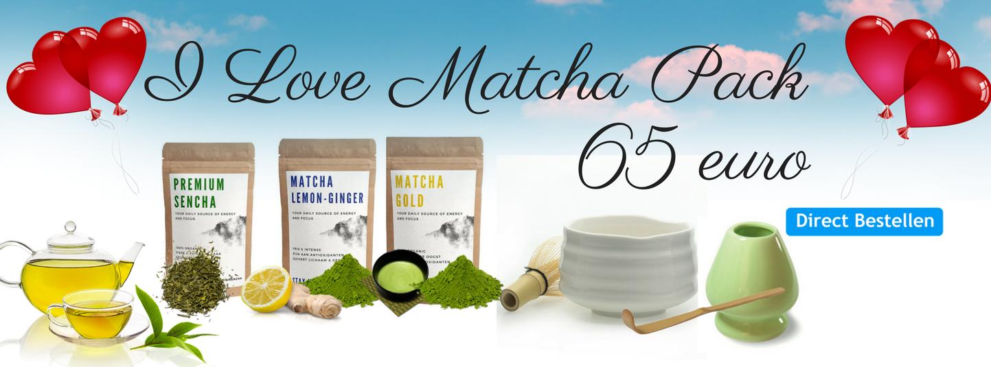 I Love Matcha Pack