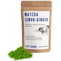 Matcha Lemon-Ginger