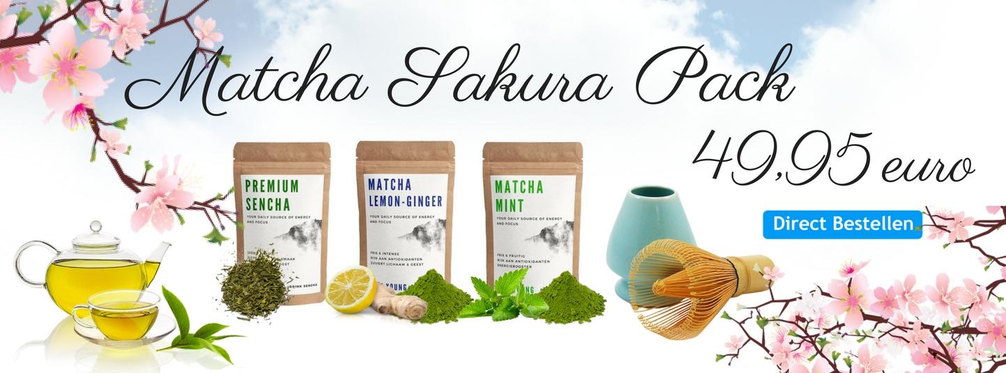 Matcha Sakura Pack