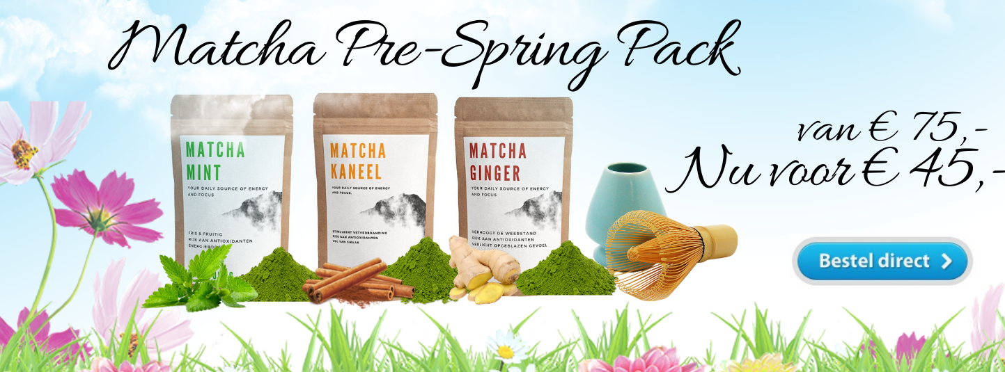 Matcha Pre Spring Pack