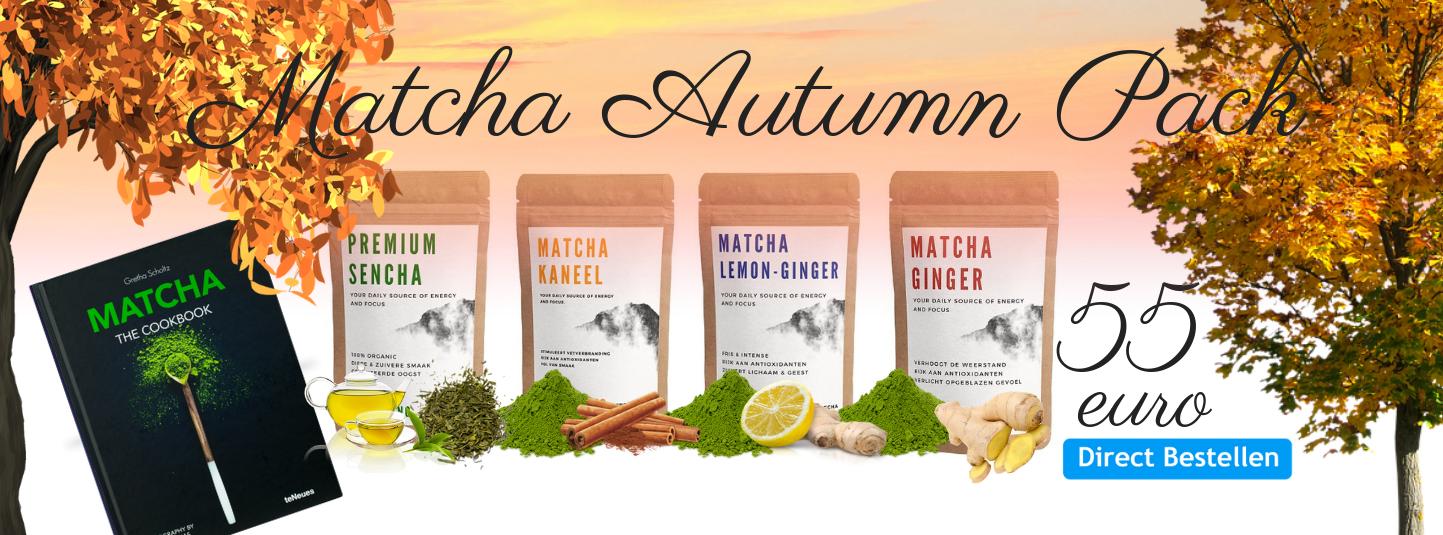 Matcha Autumn Pack