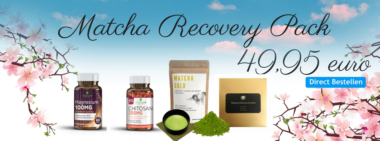 Matcha Recovery Pack