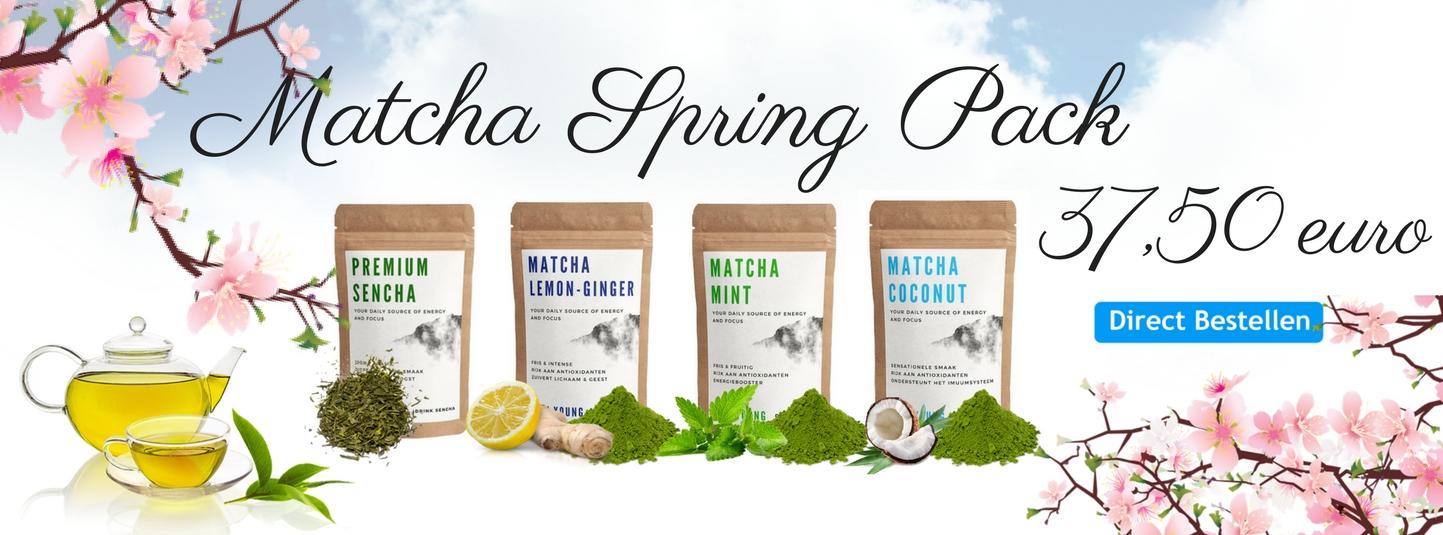 Matcha Spring Pack